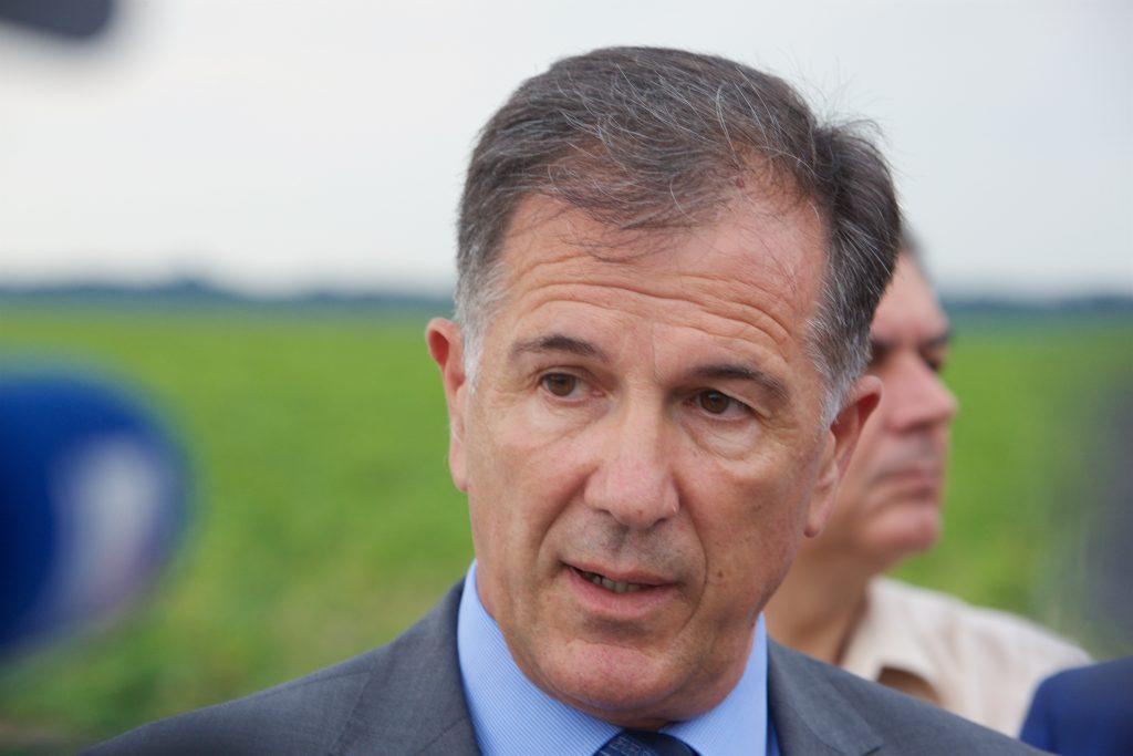 K. Vinogradi, 25.07.2016 - Ministar Davor Romic obisao sustav navodnjavanja Baranja