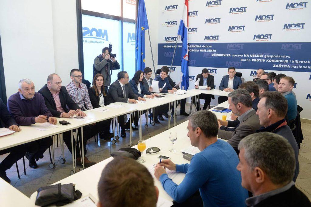 Zagreb, 11.03.2017 - Konstituirajuca sjednica glavnog odbora Mosta nezavisnih lista