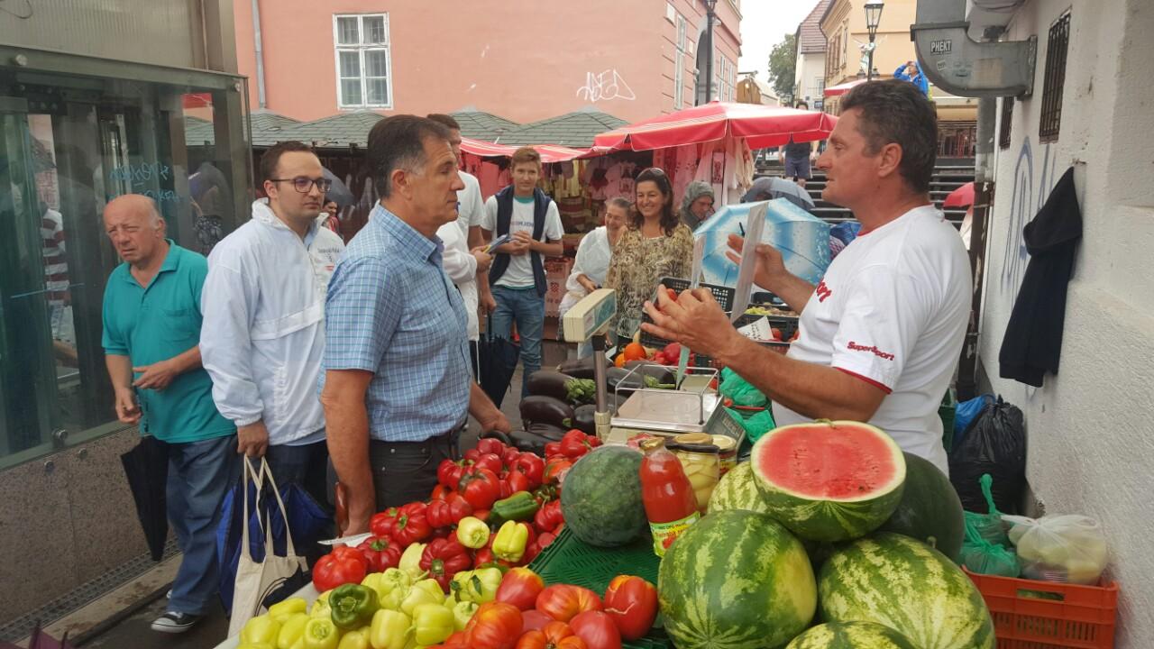 Ministar Romić posjetio zagrebački Dolac