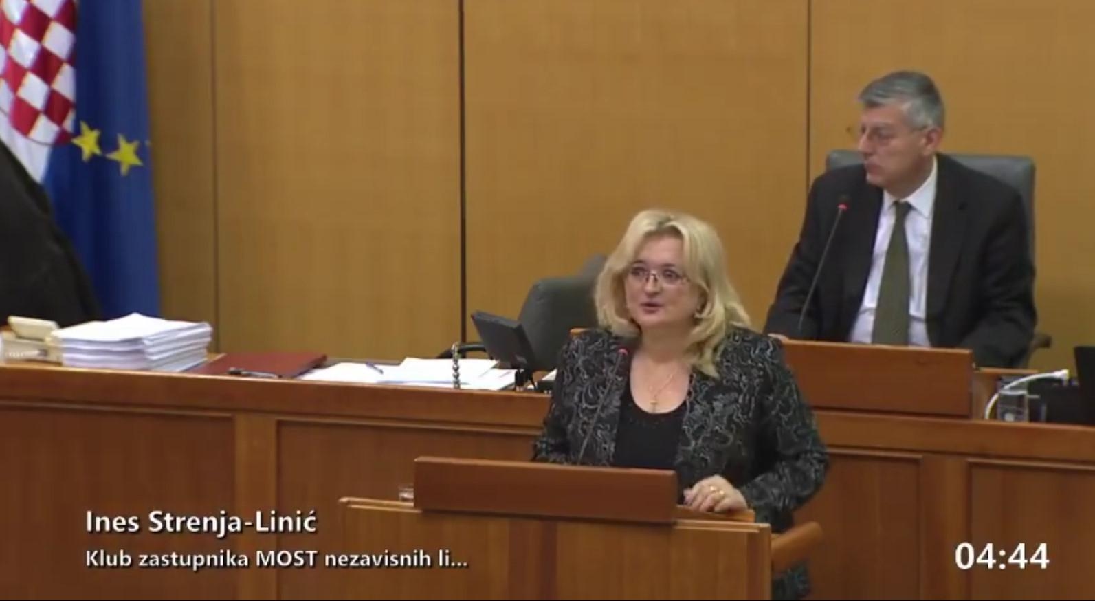 Strenja Linić progovorilia o položaju mladih liječnika